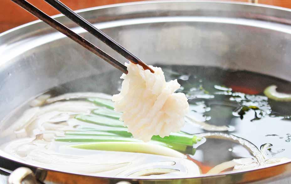 淡路島の夏を代表する高級魚『鱧』を淡路島玉ねぎと味わう「鱧鍋プラン」!