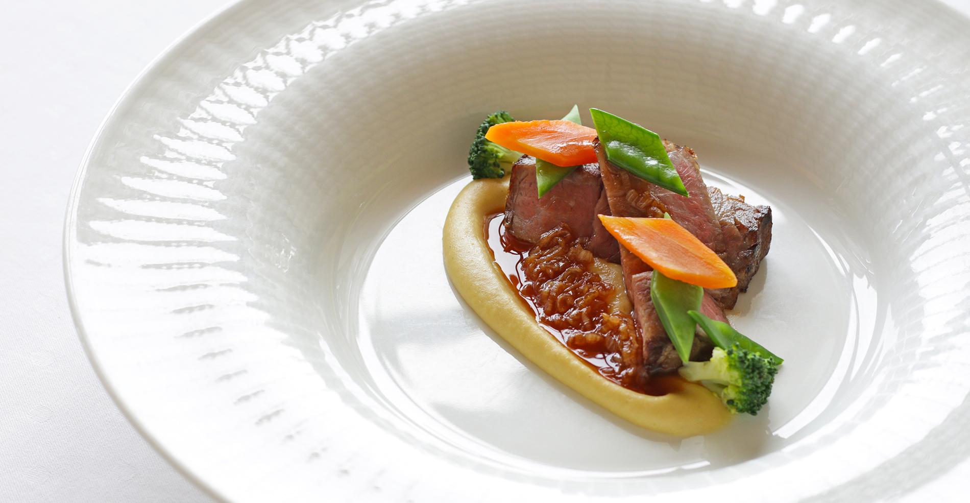 ◆旬の創作料理プラン ~ フランス料理 ~