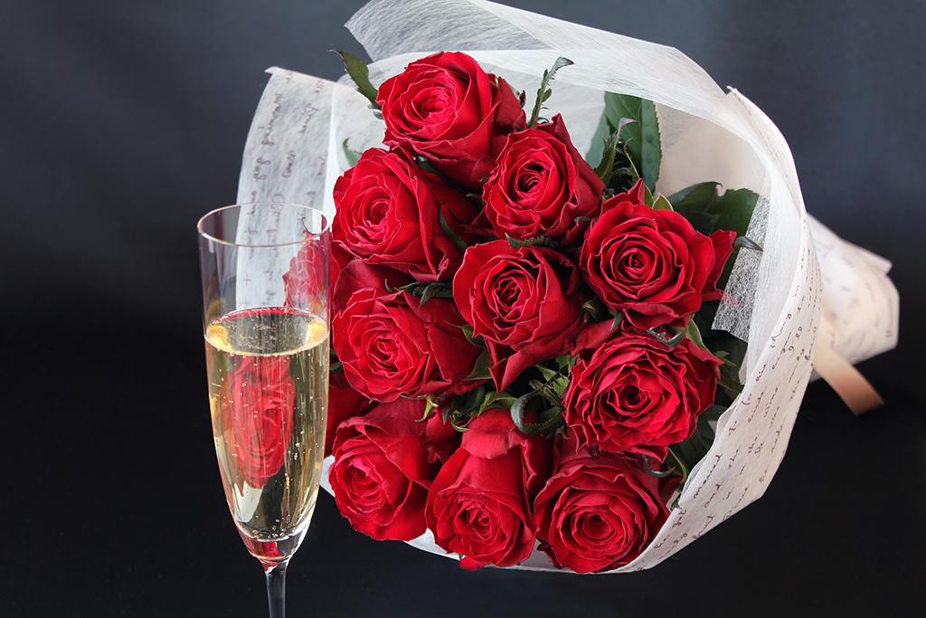フラワーバレンタイン ~DOZEN ROSESを添えて~