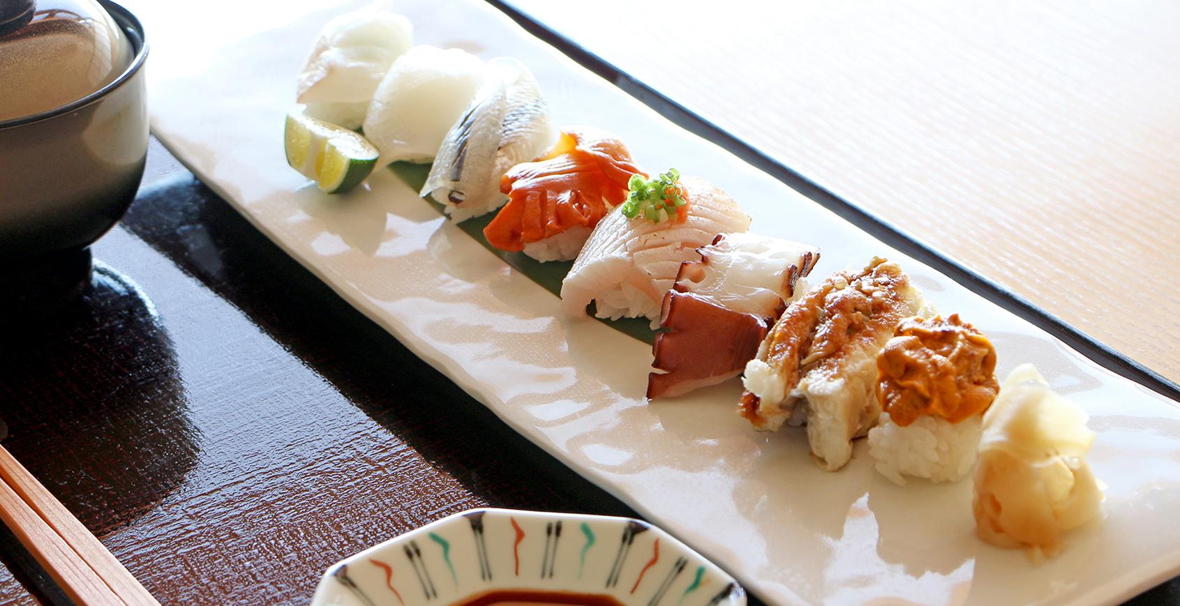 日本料理 鮨「阿那賀」のご昼食 厳選素材の新メニューが登場!