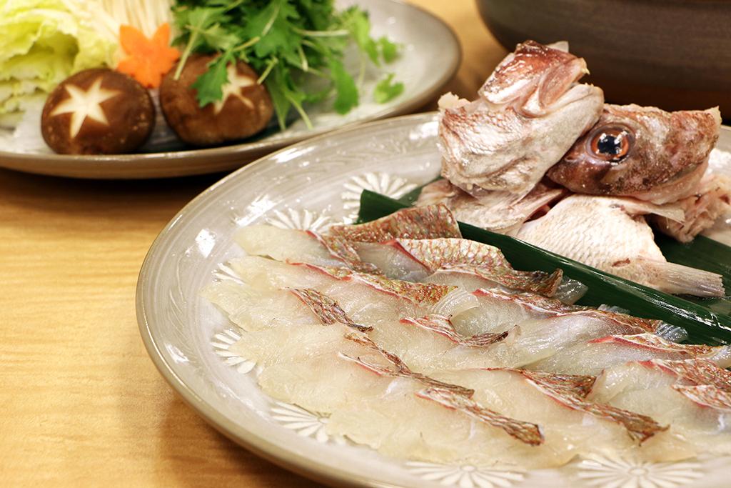 【期間限定】淡路島の秋味Promotion ~紅葉鯛のしゃぶしゃぶコース~