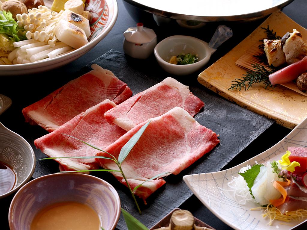 「淡路ビーフ」と淡路島の旬素材が楽しめる 牛しゃぶ会席