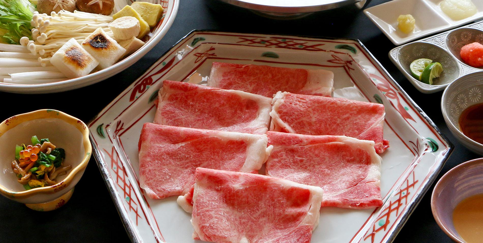 厳選ブランド牛「淡路ビーフ」を味わう 牛しゃぶ鍋コース