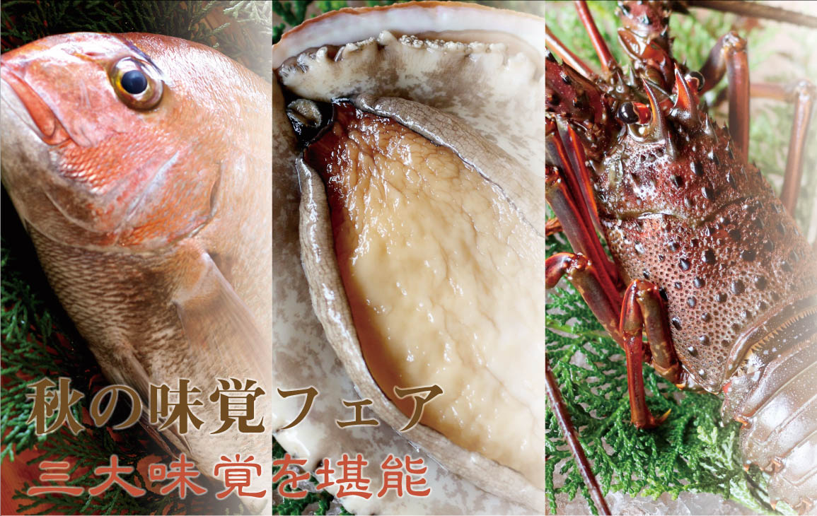 秋を彩る旬食材の饗宴「秋の味覚フェア」第二弾