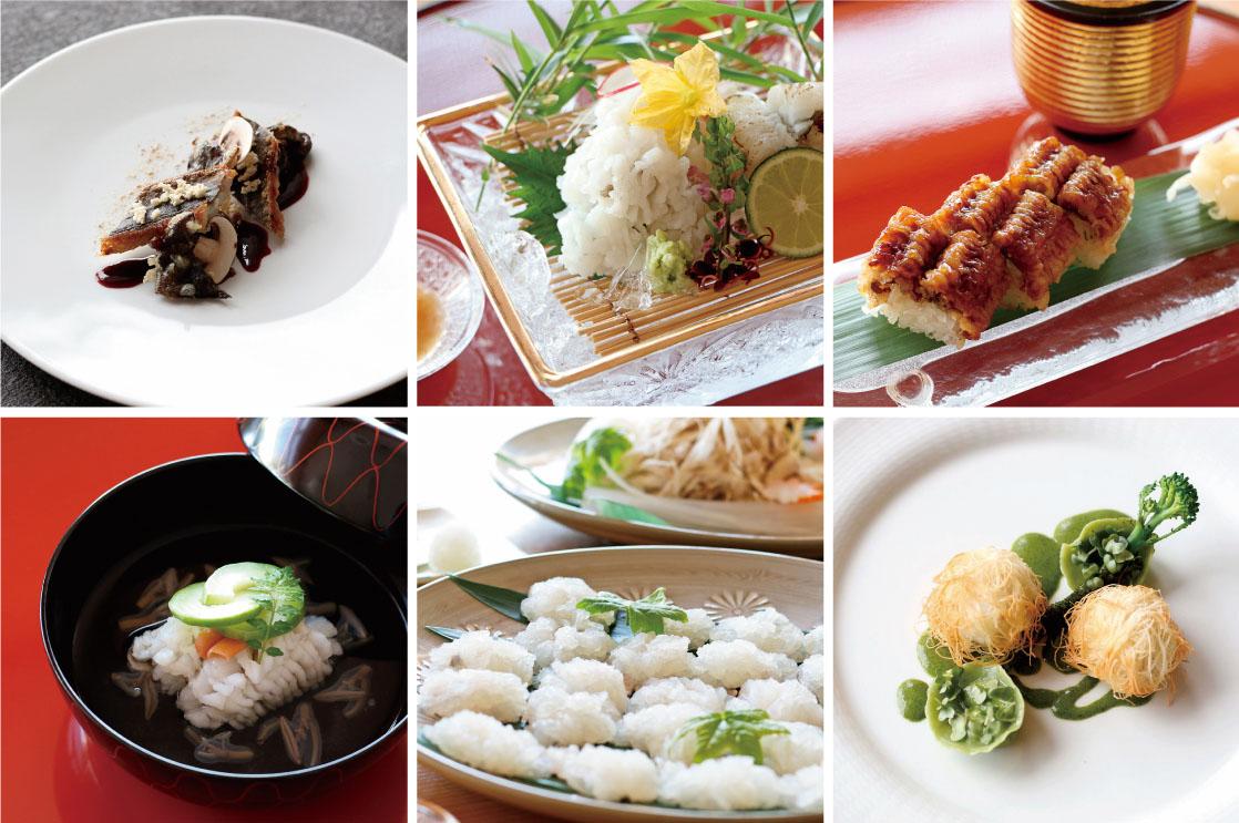 夏の風物詩をフレンチや日本料理で楽しめる「鱧フェア」