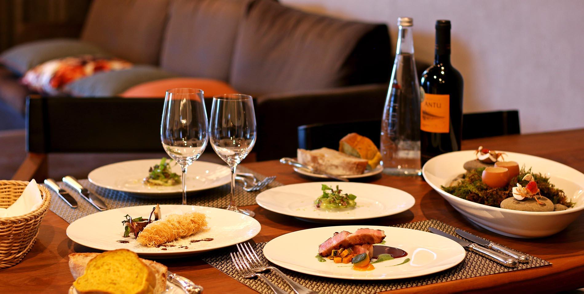 【In room dining by ANAGA】お部屋で楽しむ「フレンチフルコース」