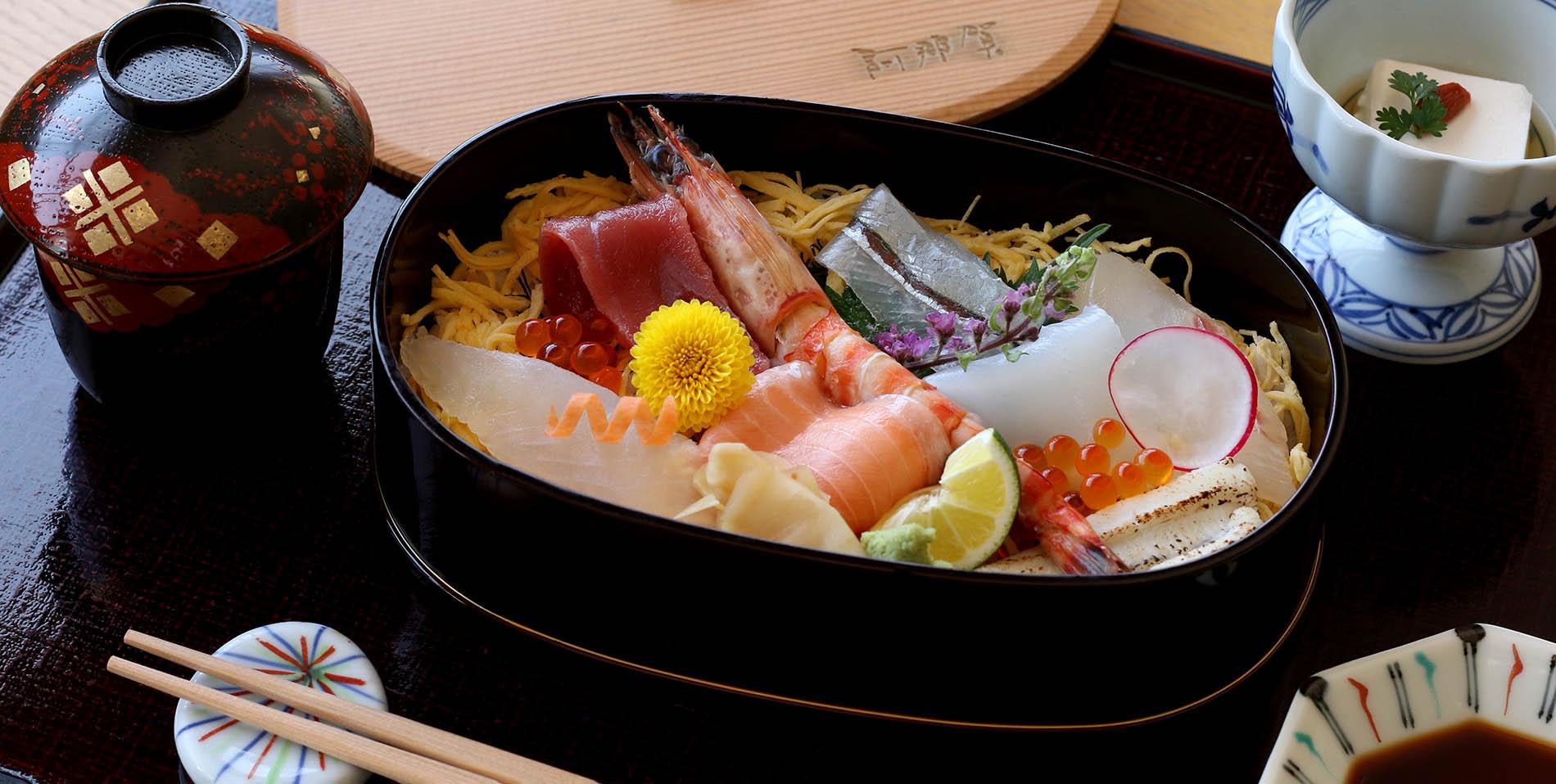 海鮮ちらし鮨セット