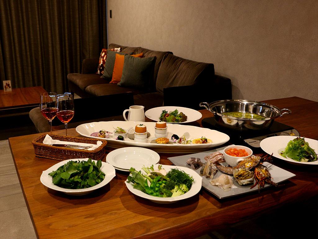 【ANAGA Bouillabaisse】海鮮鍋料理を楽しむ「アナガ・ブイヤベース」